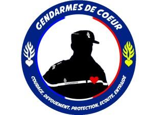 Logo Gendarmes de coeur